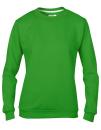 Women`s Crew Neck Sweatshirt, Anvil 71000FL // A71000FL Green Apple   S