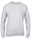Women`s Crew Neck Sweatshirt, Anvil 71000FL // A71000FL Heather Grey   S
