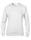 Women`s Crew Neck Sweatshirt, Anvil 71000FL // A71000FL White   S