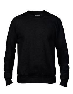 Crewneck French Terry Sweatshirt, Anvil 72000 // A72000
