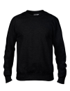 Crewneck French Terry Sweatshirt, Anvil 72000 // A72000 Black | S