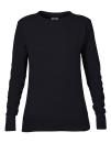 Women`s French Terry Sweatshirt, Anvil 72000L // A72000L Black | S