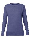 Women`s French Terry Sweatshirt, Anvil 72000L // A72000L Heather Blue | S