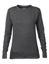 Women`s French Terry Sweatshirt, Anvil 72000L // A72000L Heather Dark Grey | S