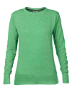 Women`s French Terry Sweatshirt, Anvil 72000L // A72000L Heather Green | S