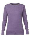 Women`s French Terry Sweatshirt, Anvil 72000L // A72000L Heather Purple | S