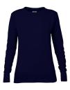 Women`s French Terry Sweatshirt, Anvil 72000L // A72000L Navy | S