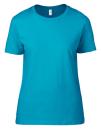 Women`s Lightweight Tee, Anvil 880 // A880 Caribbean Blue | S
