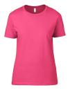 Women`s Lightweight Tee, Anvil 880 // A880 Neon Pink | S