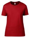 Women`s Lightweight Tee, Anvil 880 // A880 Red | S