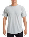 Adult Curve Tee, Anvil 900C // A900C Silver (Solid) | S
