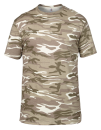 Camouflage Tee, Anvil 939 // A939 Camouflage Sand   S