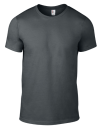 Lightweight Tee, Anvil 980 // A980 Charcoal (Solid)   S