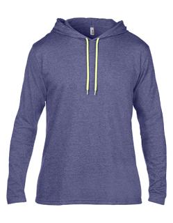 Lightweight Long Sleeve Hooded Tee, Anvil 987 // A987