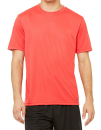 Unisex Performance Short Sleeve Tee, All Sport M1009 // ALM1009 Heather Red   XS
