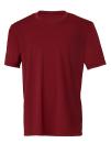 Unisex Performance Short Sleeve Tee, All Sport M1009 // ALM1009 Sport Maroon   XS
