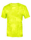Unisex Performance Short Sleeve Tee, All Sport M1009 // ALM1009 Sport Safety Yellow Laser Camo   XS