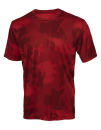 Unisex Performance Short Sleeve Tee, All Sport M1009 // ALM1009 Sport Scarlet Red Laser Camo   XS