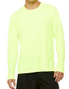 Unisex Performance Long Sleeve Tee, All Sport M3009 // ALM3009 Sport Safety Yellow | XS