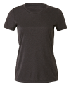 Women`s Performance Short Sleeve Tee, All Sport W1009 // ALW1009 Dark Grey Heather | XS