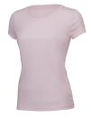 Women`s Performance Short Sleeve Tee, All Sport W1009 // ALW1009 Pink | XS