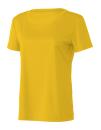 Women`s Performance Short Sleeve Tee, All Sport W1009 // ALW1009 Sport Athletic Gold | XS