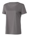 Women`s Performance Short Sleeve Tee, All Sport W1009 // ALW1009 Sport Graphite | XS