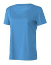 Women`s Performance Short Sleeve Tee, All Sport W1009 // ALW1009 Sport Light Blue | XS