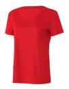 Women`s Performance Short Sleeve Tee, All Sport W1009 // ALW1009 Sport Red | XS