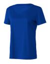 Women`s Performance Short Sleeve Tee, All Sport W1009 // ALW1009 Sport Royal | XS