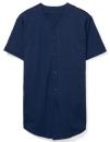 Unisex Thick Knit Baseball Jersey, American Apparel 1403W // AM1403 Navy   XS