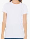 Women`s Fine Jersey T-Shirt, American Apparel 2102W // AM2102 White | S