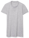 Women`s Fine Jersey T-Shirt, American Apparel 2102W // AM2102 Heather Grey | S