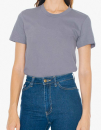 Women`s Fine Jersey T-Shirt, American Apparel 2102W // AM2102 Slate | S