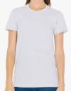 Women`s Fine Jersey T-Shirt, American Apparel 2102W // AM2102 New Silver | S