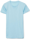 Women`s Fine Jersey T-Shirt, American Apparel 2102W // AM2102 Aqua | S