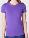 Women`s Fine Jersey T-Shirt, American Apparel 2102W // AM2102 Purple | S