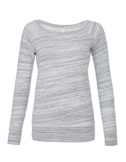 Women`s Sponge Fleece Wide Neck Sweatshirt, Bella 7501 B
