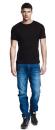 Mens Fitted T-Shirt, Continental Clothing N03B // CCN03B