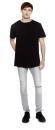 Mens Long T-Shirt, Continental Clothing N07 // CCN07
