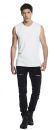 Men´s Raw Edge Sleeveless T-Shirt, Continental...