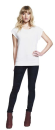 Women´s Rolled Sleeve Tunic T-Shirt, Continental...