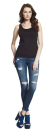 Women´s Classic Jersey Vest, Continental Clothing...