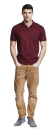 Mens Jersey Polo T-Shirt, Continental Clothing N34 // CCN34