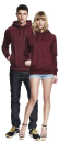 Unisex Pullover Hood/Side Pockets, Continental Clothing...