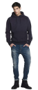 Mens Pullover Hooded Sweat, Continental Clothing N51P //...