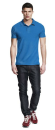 Mens Urban Brushed™ Jersey Polo Shirt, Continental...