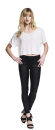 Women´s Cropped Top  T-Shirt, Continental Clothing...