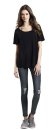 Women Oversized T-Shirt, Earth Positive EP46 // EAP46