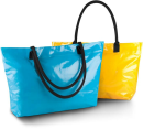 Strandtasche. Beschichtete Baumwolle, Kimood KI0246 //...